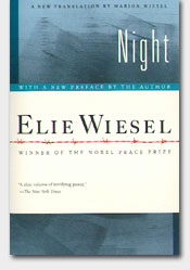 book night elie wiesel essays Night elie weisel essays elie wiesel was known as a french american author,  whose work  elie wiesel has many books revolving around his chaotic life.